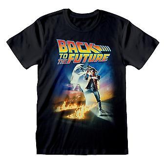 Tilbage til fremtiden Womens / Ladies Movie Plakat Kæreste T-shirt