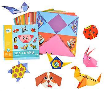 54 pagina's milieuvriendelijke montessori diy kinderen maken origami makers