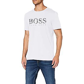 BOSS Tee 11 Shirt, White (100), L Man