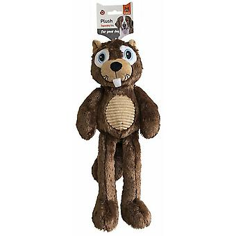 Fofos Snuggle Racoon Plush Dog Toy
