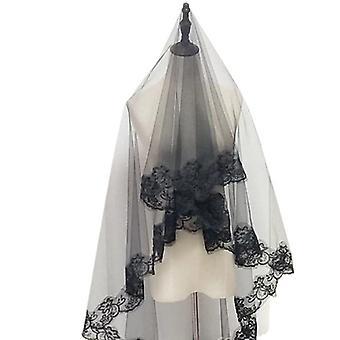 Frauen Mantilla Hochzeitsschleier