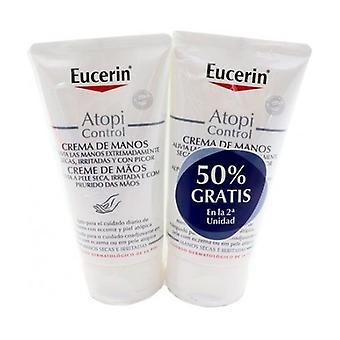 Atopicontrol hand cream 2 units of 75ml