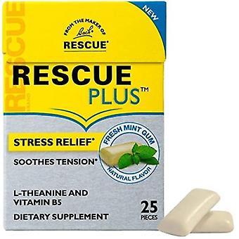Bach Flower Remedies Rescue Plus Gum Mint, 25 Count