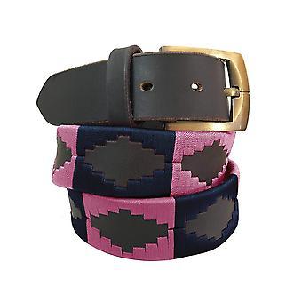Carlos Díaz cinturón de cuero marrón awo20837