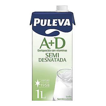 Latte semis scremato Puleva A+D (1 L)