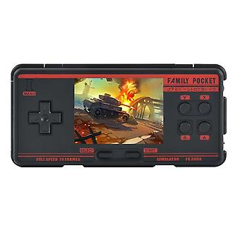 Fc3000 v2 retro handheld game console built-in 4000+ classic games 10 simulator video game console av output support ntsc format
