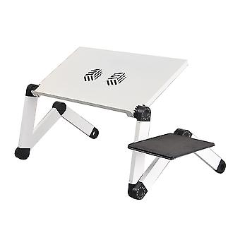 Laptop Desk Portable Foldable Computer Tablet Stand With Cooling Fan
