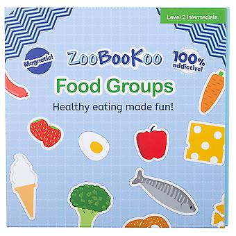 ZooBooKoo Educational Magnet Book Food Groups Early Learning Magnetic