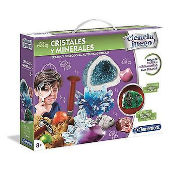 Science Game Cristales y Minerales Clementoni (ES) (ES)