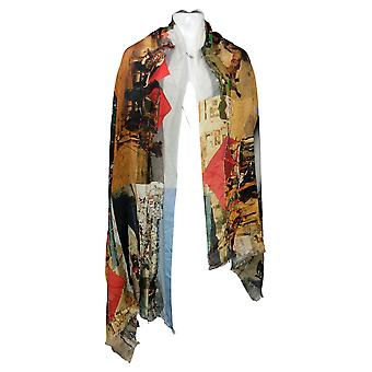 Tolani CollectionPrinted Scarf Regualr Gray A382643