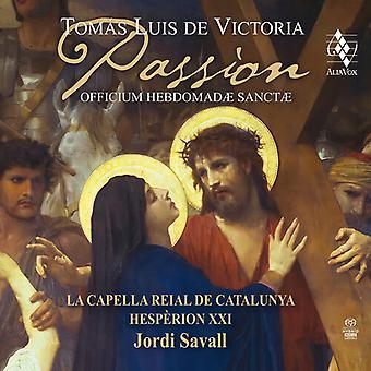 Victoria: Passion - Officium Hebdomadae Sanctae [SACD] USA import