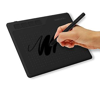 6.5 X 4 inches digital tablet anime for drawing &playing osu with 8192 levels battery-free pen