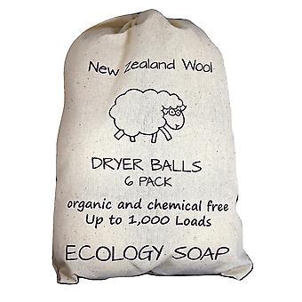 Laundry balls premium new zealand organic wool jumbo dryer balls