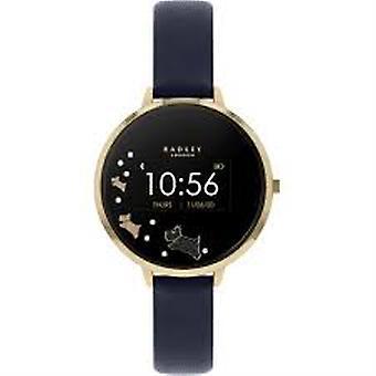 Radley Rys03-2004 Black Dial Leather Strap Ladies Smart Watch