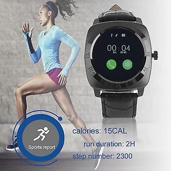 Fic-sw-654(x3) 1.2 Inch Display Alloy Case Independent Sim Card Smart Watch