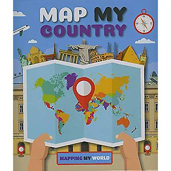 Map My Country by Harriet Brundle - 9781786373212 Book