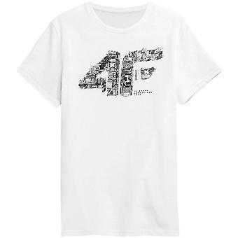 4F TSM012 H4Z21TSM012BIAY träning året runt herr t-shirt