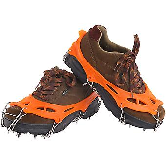 19 טפרי שיניים מיקרו קוצים כיסוי הנעלה Cleat, כיסוי נעליים Crampons