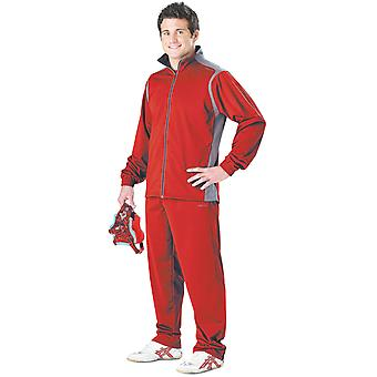 Cliff Keen All American Wrestling Warm-up Suit - Scarlet/Gray