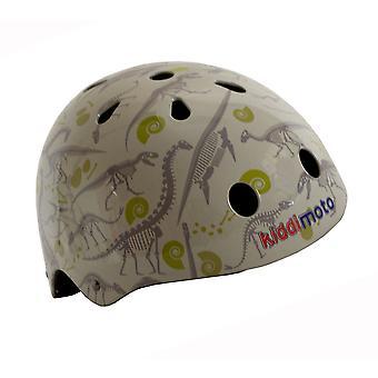 Kiddimoto Helmet - Fossil Dinosaur