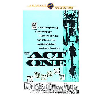 Act One [DVD] USA import