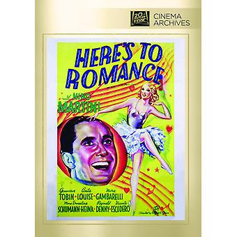 Here's to Romance [DVD] USA import