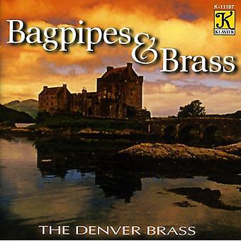 Denver Brass - Bagpipes & Brass [CD] USA import