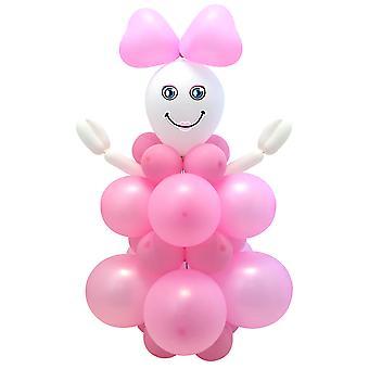 Balon zestaw DIY dziecko dziewczyna dziewczynka dekoracje