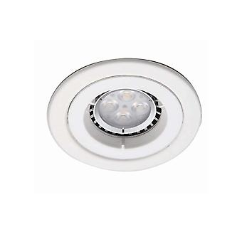 Ansell ICage Mini Downlight 50W GU10 Matt White