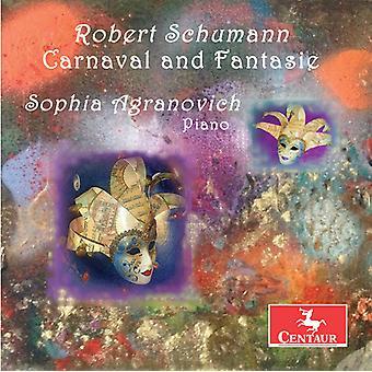 Schumann / Agranovich - Robert Schumann: Carnaval & Fantasie [CD] USA import