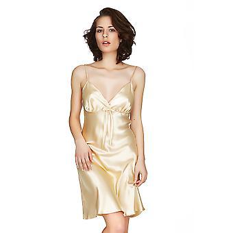 Mio salon Las Vegas złota satyna Chemise 141622G
