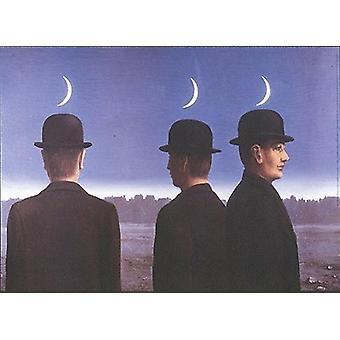 ル シェフ-カツオのたたき ou レ Mysteres ルネ ・ マグリット (28 x 20) ポスター印刷