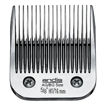 "Andis Ultra-Edge No. 5/8""Chrome Plated Detachable Clipper Blade - 16mm"