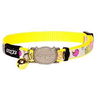 Rogz Reflectocat Fun Stylish Reflective Cats Collar
