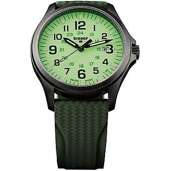 Traser H3 watch P67 officer pro GunMetal 107424