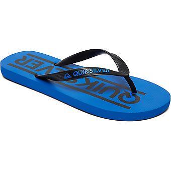 Quiksilver Mens Java Wordmark tå punkt Flip Flop sommar sandaler