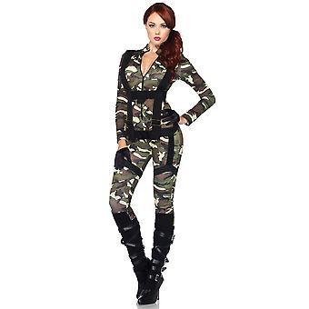 Mooie Paratrooper militaire leger soldaat FBI Top Gun SWAT vrouw kostuum