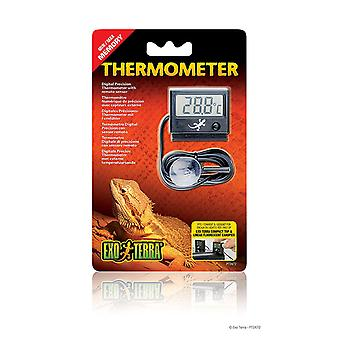 Exo Terra Digital Reptile Terrarium Thermometer With Probe