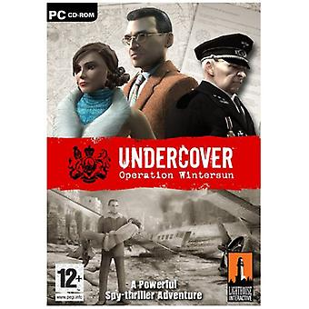 Undercover operation Wintersun (PC CD)-ny