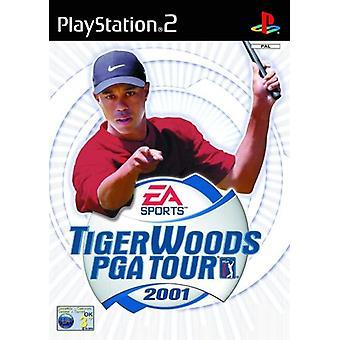 Tiger Woods PGA Tour golf 2001 (PS2)-nytt