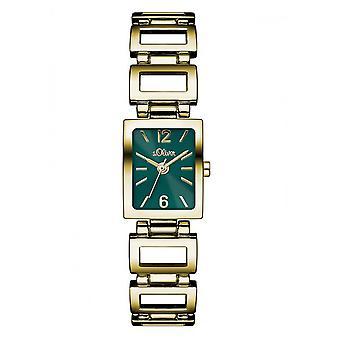 s.Oliver dameshorloge pols horloge SO-3066-MQ goud