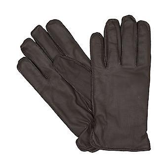 bugatti Herrenhandschuhe Handschuhe Ziegennappaleder Braun 6458