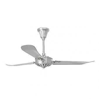 Faro Ceiling Fan Aoba nickel matt 142 cm/56
