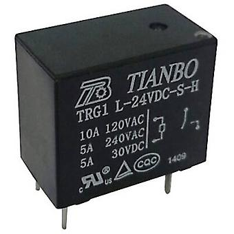 Tianbo Electronics TRG1 L-S-H 24VDC PCB relay 24 V DC 3 A 1 maker 1 pc(s)