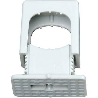 Kopp 343404099 ISO clip 343404099 Bundle Ø range 6 up to 16 mm resealable Grey 50 pc(s)