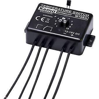 Kemo M169A Temperature switch Component 12 Vdc 0 up to 100 °C