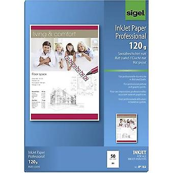 Sigel Inkjet Paper Professional IP182 Inkjet printer paper A4 120 gm² 50 sheet Bright white