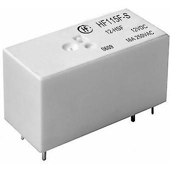 Hongfa HF115F-S/012-HSF PCB relay 12 V DC 16 A 1 Maker 1 PC (S)