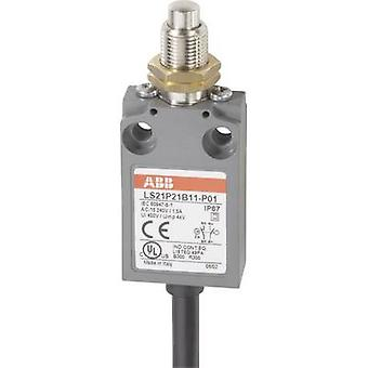 ABB LS21P21B11-P01 Limit switch 400 V AC 5 A Tappet (+ thread) momentary IP67 1 pc(s)