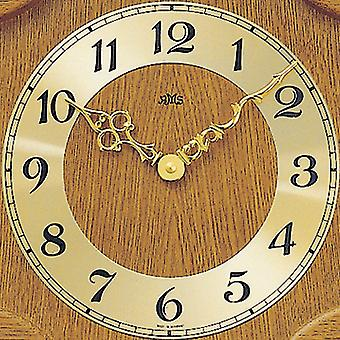 Wall clock wood wall clock quartz clock with pendulum wooden cabinet oak